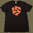 Gretsch 45 RPM T-Shirt, Black, XXL