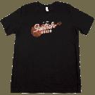 Gretsch G6120 T-Shirt, Black, S