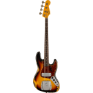 Fender Custom Shop 1961 Jazz Bass Heavy Relic with Rosewood Fingerboard in 3-Colour Sunburst