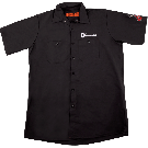 Charvel Patch Work Shirt, Gray, L