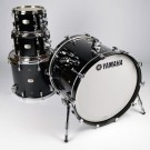 Yamaha Absolute Hybrid Maple Euro size  Drum Kit in Solid Black
