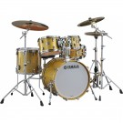 Yamaha Absolute Hybrid Maple 4pc Drum Kit - Shell Pack - Gold Champagne Sparkle