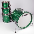 Yamaha Absolute Hybrid Maple 4pc Drum Kit - Shell Pack - Jade Green Sparkle