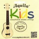 Aquila Kids Series Coloured Ukulele String Set