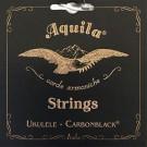 Aquila Carbon Black High-G Soprano Ukulele String Set