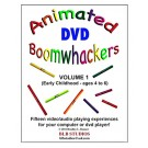 "Boomwhackers ""Animated Boomwhackers Volume 1"" DVD Only"