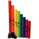 Boomwhackers 8-Note Diatonic C-Major Scale Set with Octaver Caps