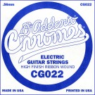 D'Addario CG022 Flat Wound Electric Guitar Single String .022
