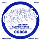 D'Addario CG080 Flat Wound Electric Guitar Single String .080