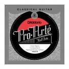 D'Addario CGN-3T Pro-Arte Clear Nylon w/ Composite G Classical Guitar Half Set Normal Tension