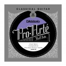 D'Addario CGX-3T Pro-Arte Clear Nylon w/ Composite G Classical Guitar Half Set Extra Hard Tension