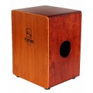 A Tempo Percussion Dos Voces Double-Sided Cajon in Natural Finish