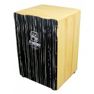 A Tempo Performance Series Cajon in Black Wood Grain Matte
