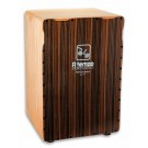 A Tempo Performance Series Cajon in Black Stripe Matte