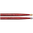 Vater Vcr5Bn 5B Red Sparkle Colour Wrap Nylon Tip