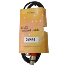 Australian Monitor DMX5-2 - DMX 5 pin XLR-XLR cable 2 meter.