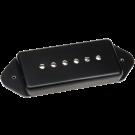 DiMARZIO - DP278D Fantom Series Fantom P90™ Soapbar Hum Cancelling Pickup: Dog Ear. Black.