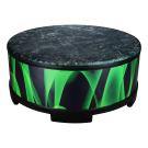 """Remo - E3-5818-41 Green and Clean 18"""" Gathering Drum.  Green & Black"""
