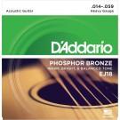 D'Addario EJ18 Phosphor Bronze Acoustic Guitar Strings Heavy 14-59