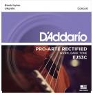 D'Addario EJ53C Pro-Arté Rectified Ukulele Strings Hawaiian-Concert