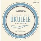 D'Addario EJ88T-8 Nyltech Ukulele 8-String Tenor