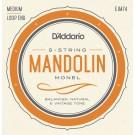 D'Addario EJM74 Monel Mandolin Strings Medium 11-40