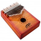 Opus Percussion 17-Key Curly Maple Kalimba in Sunburst Gloss