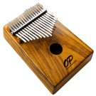 Opus Percussion 17-Key Koa Wood Kalimba in Natural Gloss
