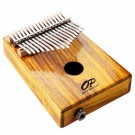 Opus Percussion 17-Key Koa Wood Kalimba with Pickup in Natural Gloss