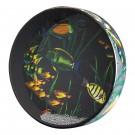 """Remo ET-0212-10 12"""" Ocean Drum with Fish Graphic"""