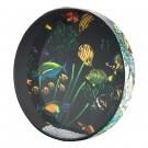 """Remo ET-0216-10 16"""" Ocean Drum with Fish Graphic"""