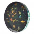 """Remo ET-0222-10 22"""" Ocean Drum with Fish Graphic"""