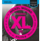 D'Addario EXL170-8 8-String Nickel Wound Bass Guitar Strings Light 32-130 Long Scale