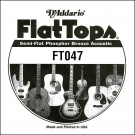 D'Addario FT047 Semi-Flat Phosphor Bronze Acoustic Guitar Single String .047