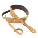 "DSL Straps - GET25-18-2 2.5"" Buckle Slender Tan/Brown Guitar Strap"