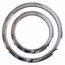 "Gibraltar Port Hole Protector 6"" Chrome Finish - Pk 1"