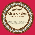 D'Addario J27H02  Student Nylon Classical Guitar Single String Hard Tension Second String