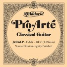 D'Addario J4505LP Pro-Arte Composite Classical Guitar Single String Normal Tension Sixth String