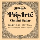 D'Addario J4604LP Pro-Arte Composite Classical Guitar Single String Hard Tension Fourth String