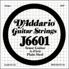 D'Addario J6601 Plain Steel Tenor Guitar Single String .010