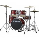 Yamaha Manu Katche Junior Drum Shell Pack in Cranberry Red