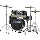 Yamaha Manu Katche Junior Drum Shell Pack in Raven Black