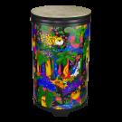 "Remo - KD-2514-01 Kids Percussion 14"" Tubano with Fliptop drum head. Rainforest"