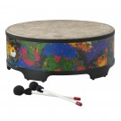"""Remo - Kids Percussion Gathering Drum - Rain Forest Finish, 22"""" Rain Forest Green"""