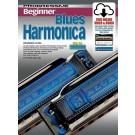 Progressive Beginner Blues Harmonica Book/Online Video & Audio