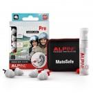 Alpine Ear Plugs - MotoSafe Pro with Mini Grip