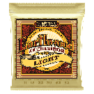 Ernie Ball - Earthwood Light 80/20 Bronze Acoustic Guitar Strings 11-52 Gauge
