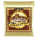 Ernie Ball - Earthwood Extra Light 80/20 Bronze Acoustic Guitar Strings 10-50 Gauge