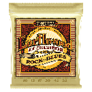 Ernie Ball Earthwood Rock and Blues with Plain G 80/20 Bronze Acoustic Guitar Strings 10-52 Gauge