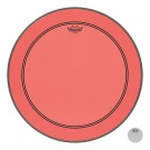 """Remo 22"""" Colortone Red Powerstroke P3 Batter Bass Drumhead"""